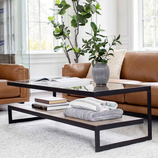 Mitchell Coffee Table -Aspen Oak
