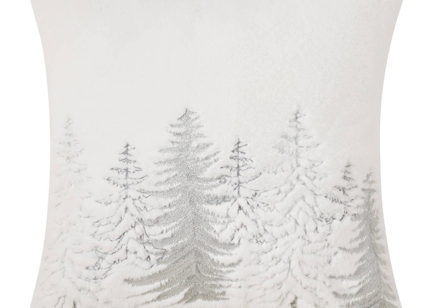Eloise Faux Fur Toss 20x20 White