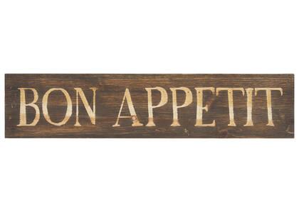 Bon Appetit Wall Plaque