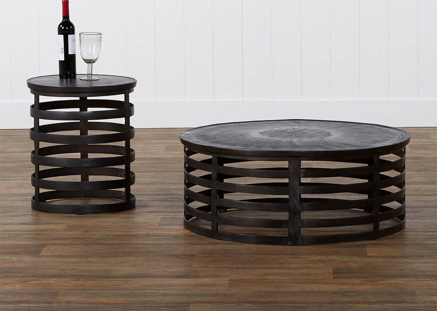 Hector Coffee Table -Aged Bronze
