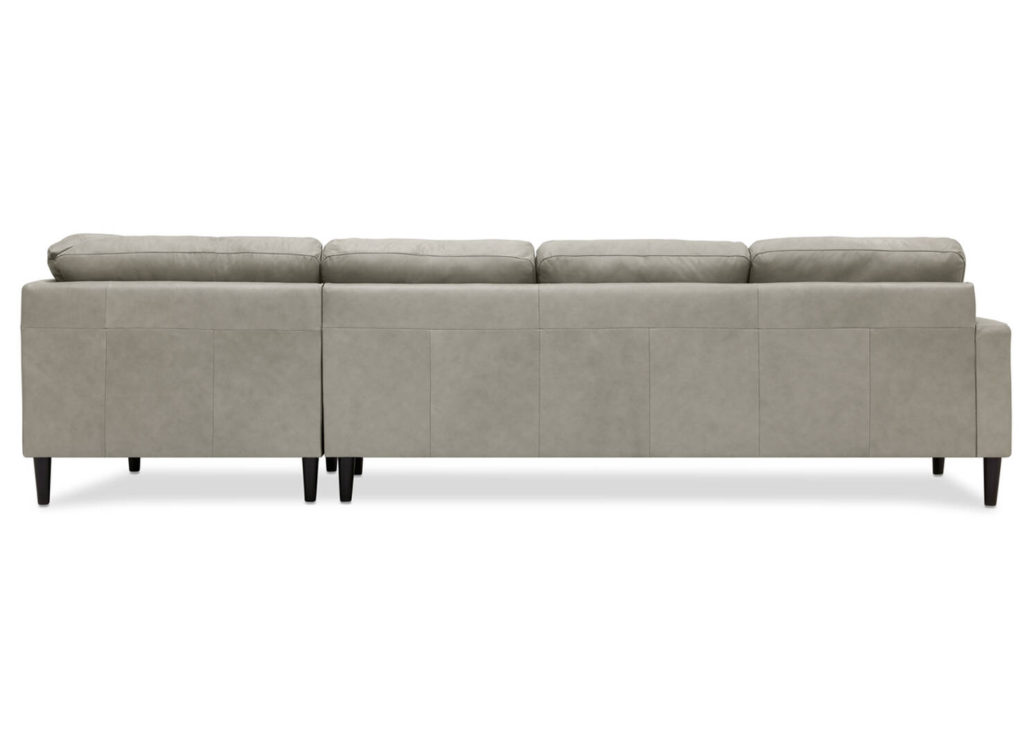 Savoy Custom Leather 2PC Sectional
