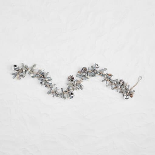 Blitzen Garland Silver