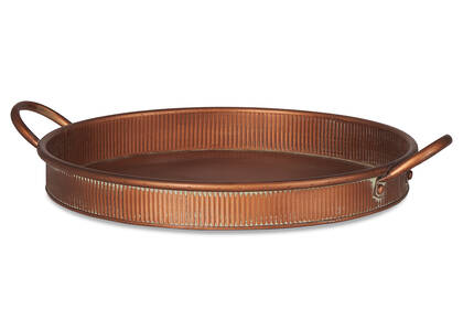 Netherfield Round Tray Copper