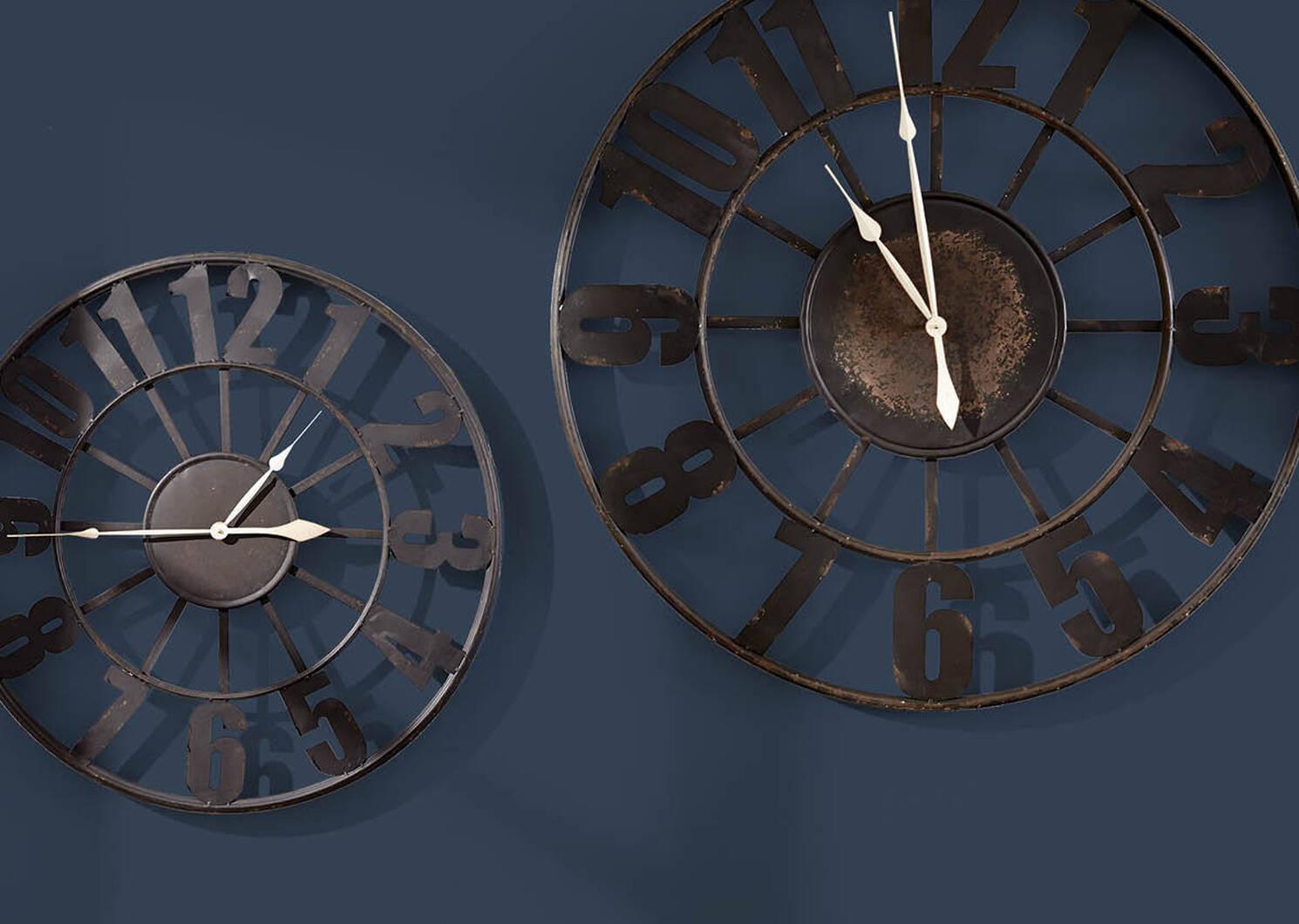 Old Station Clock Medium