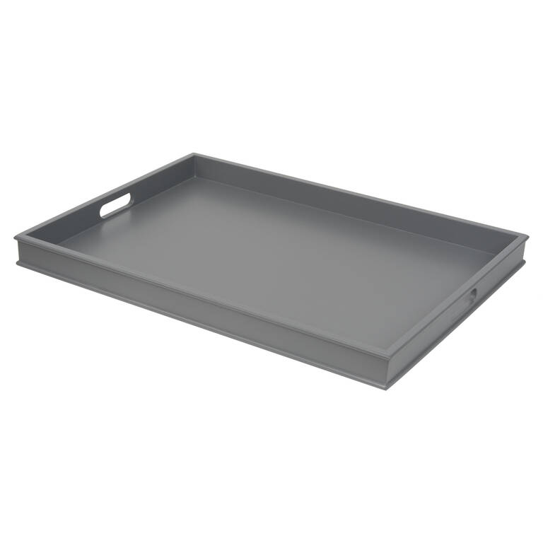 Montreal Tray Large Cool Grey