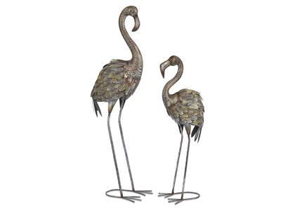 Faizal Flamingo Garden Décor