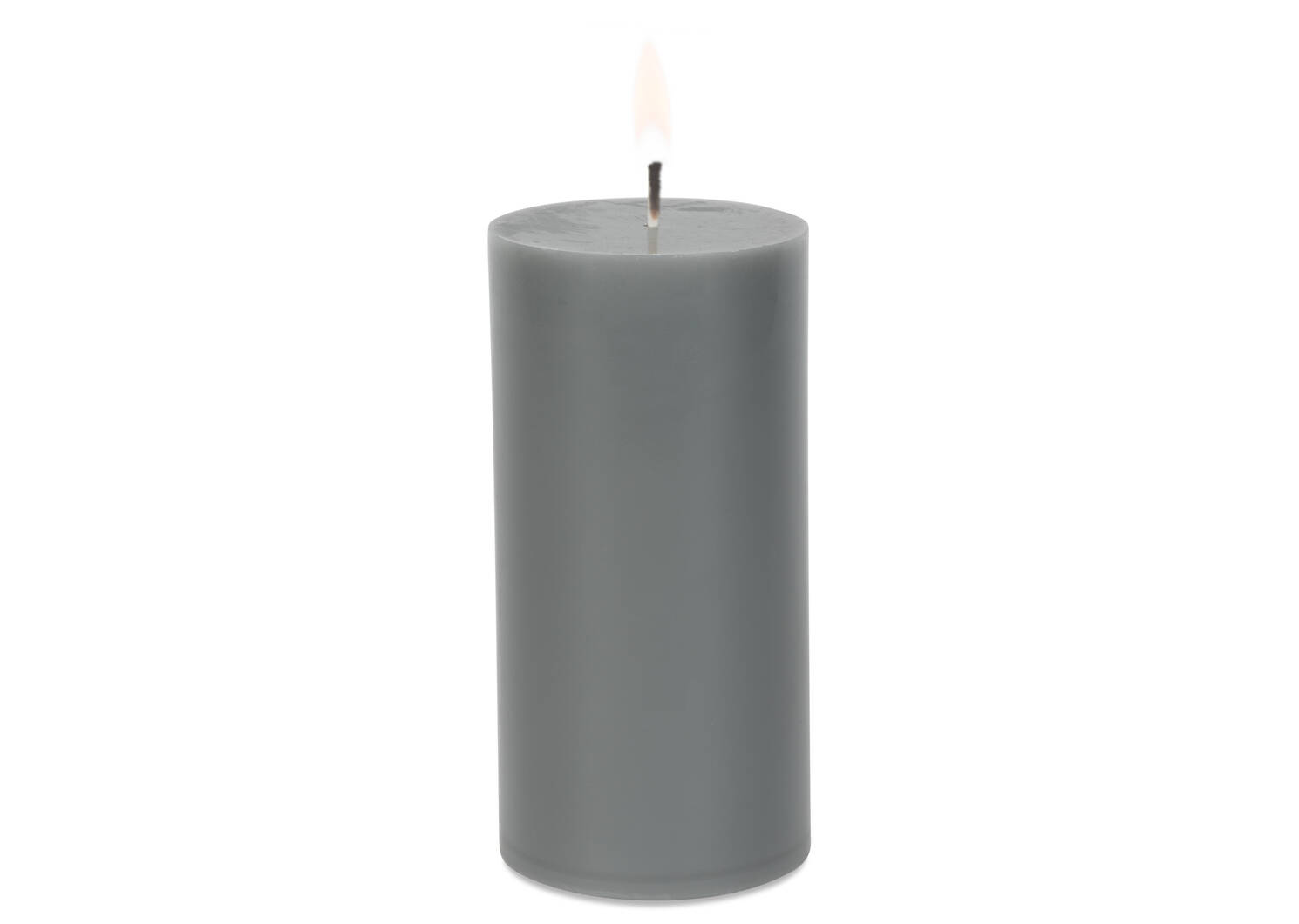 Cassa Candle 3x6 Grey Unscented