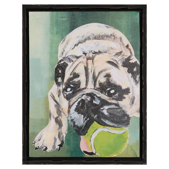 Paws Bulldog Wall Art
