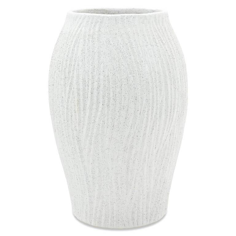 Gianna Vase Medium White
