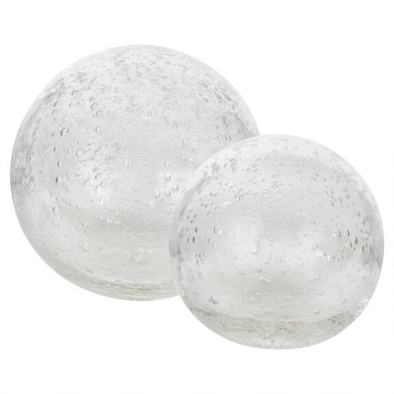 Boules En Verre Anora - Transparentes
