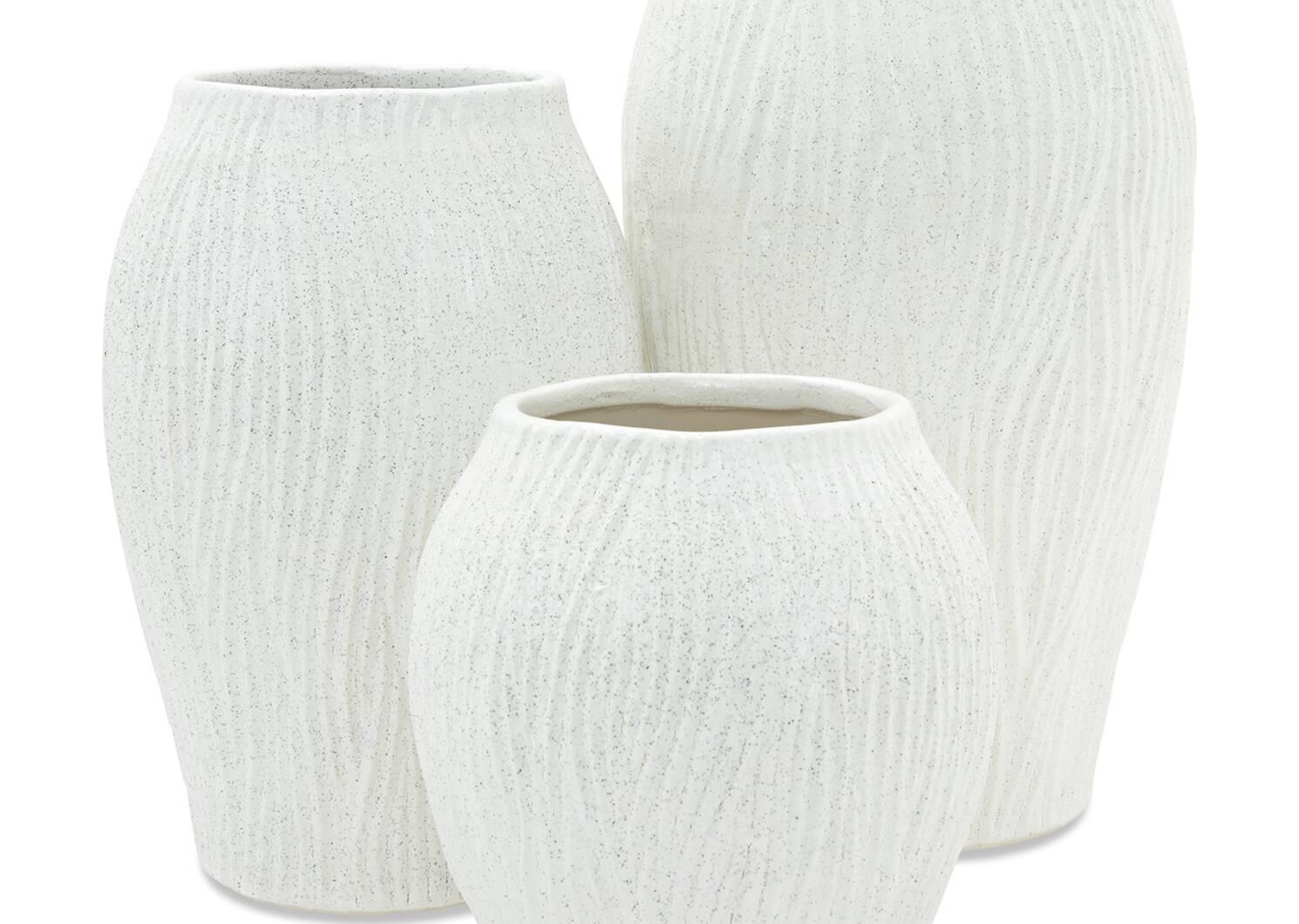 Petit vase Gianna blanc