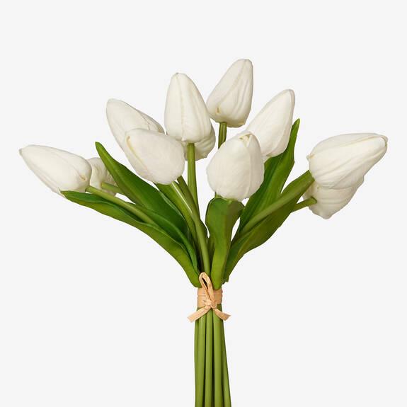 Berdine Tulip Bundle White