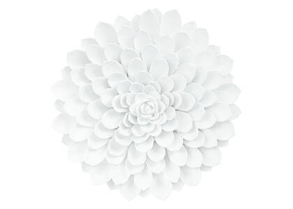 Floressa Wall Decor X Large White