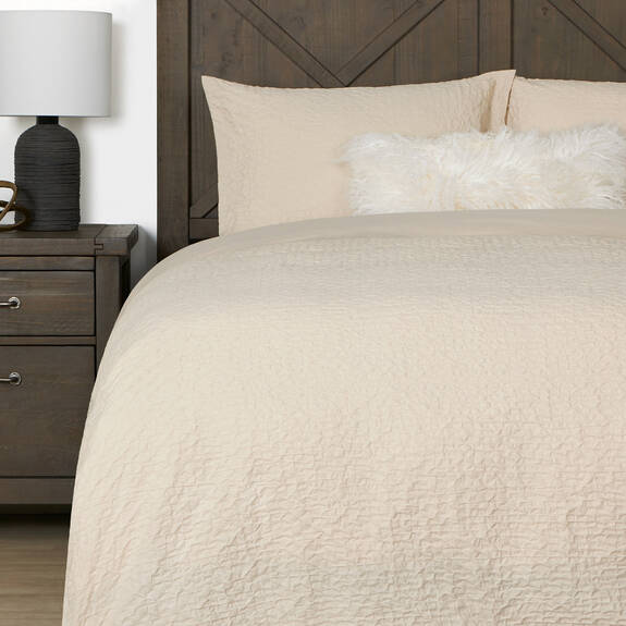 Darcy Duvet Set - Natural