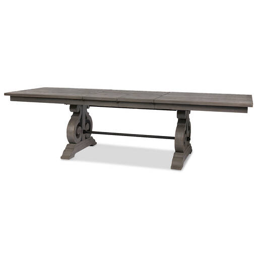 Churchill Ext Dining Table -Pewter