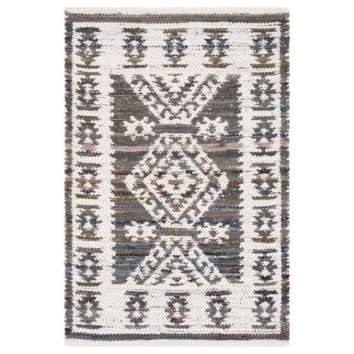 Marchant Accent Rug - Grey/White