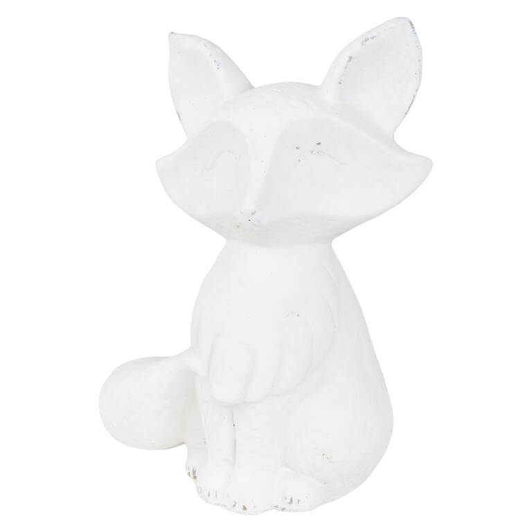 Remus Fox Sitting White