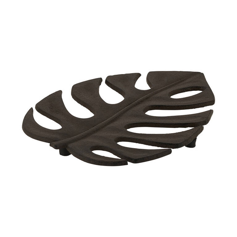 Ama Leaf Trivet Iron
