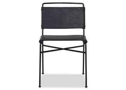 Emmory Dining Chair -Como Black
