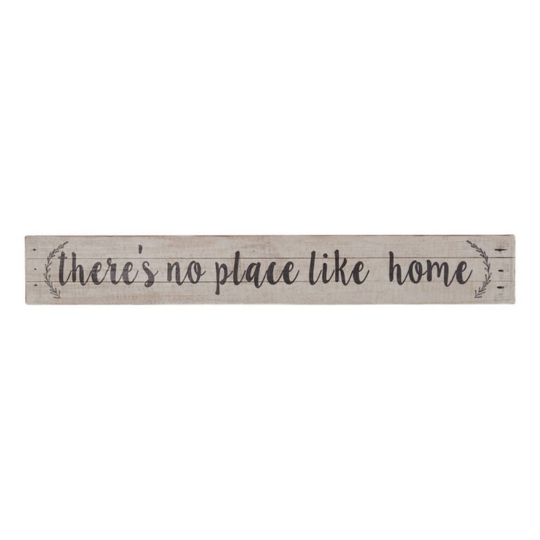 No Place Like Home Plaque