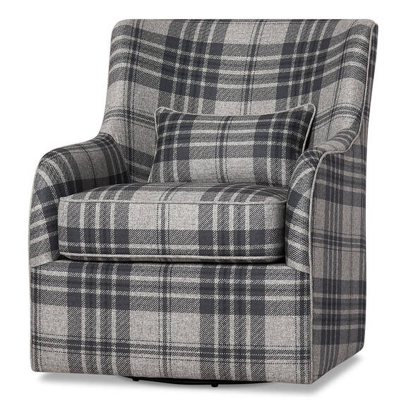 Coventry Swivel Armchair Marta Charcoal