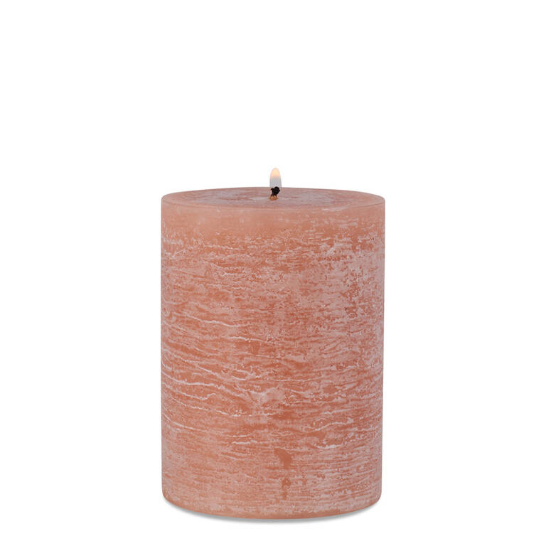 Raylan Candle 3x4 Ballet Pink