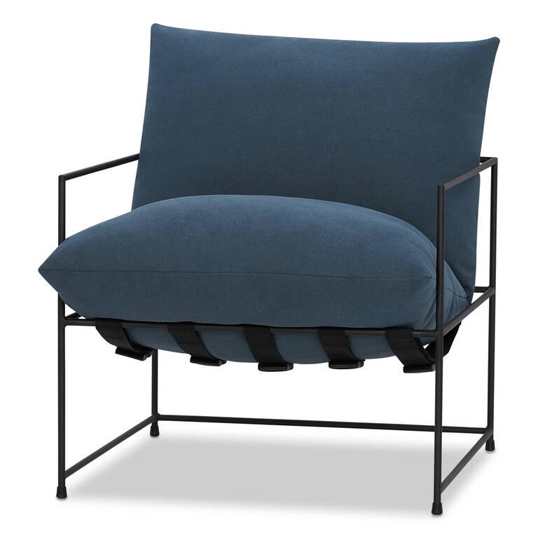 """Mondo Chair 28"""" -Uno Indigo"""