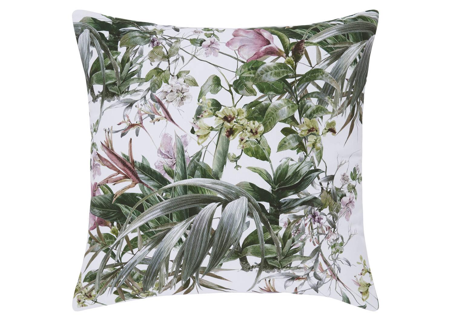 Spirited Floral Toss 20x20 Wht/Sage/P