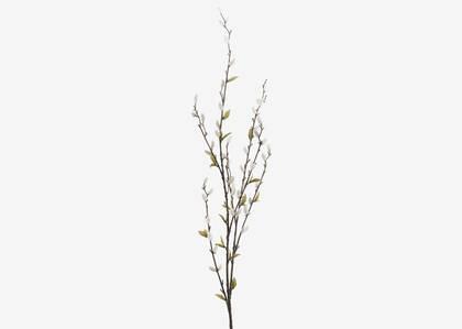 Jessa Pussy Willow Branch White
