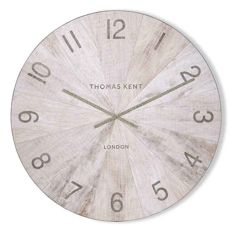 Mendel Wall Clock Large Natural