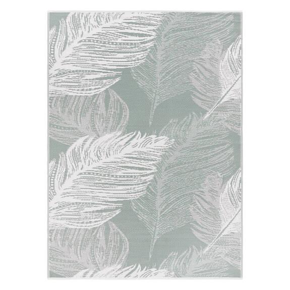 Tapis ext. plumes Bali - minéral