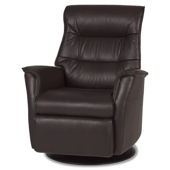 Fauteuil inc. cuir Paramount -Sol cacao