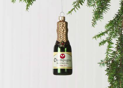 Orn. bouteille de Champagne