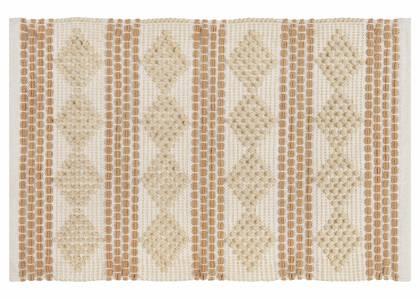 Tapis décoratifs Samson -ivoire/sable