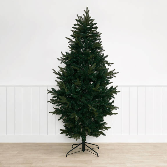 Claus Tree 7.5ft Rustic Pre-lit LED G