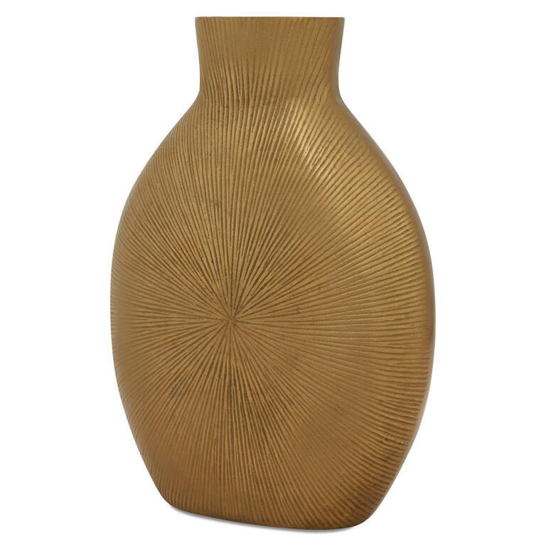 Zuri Vase Large Brass