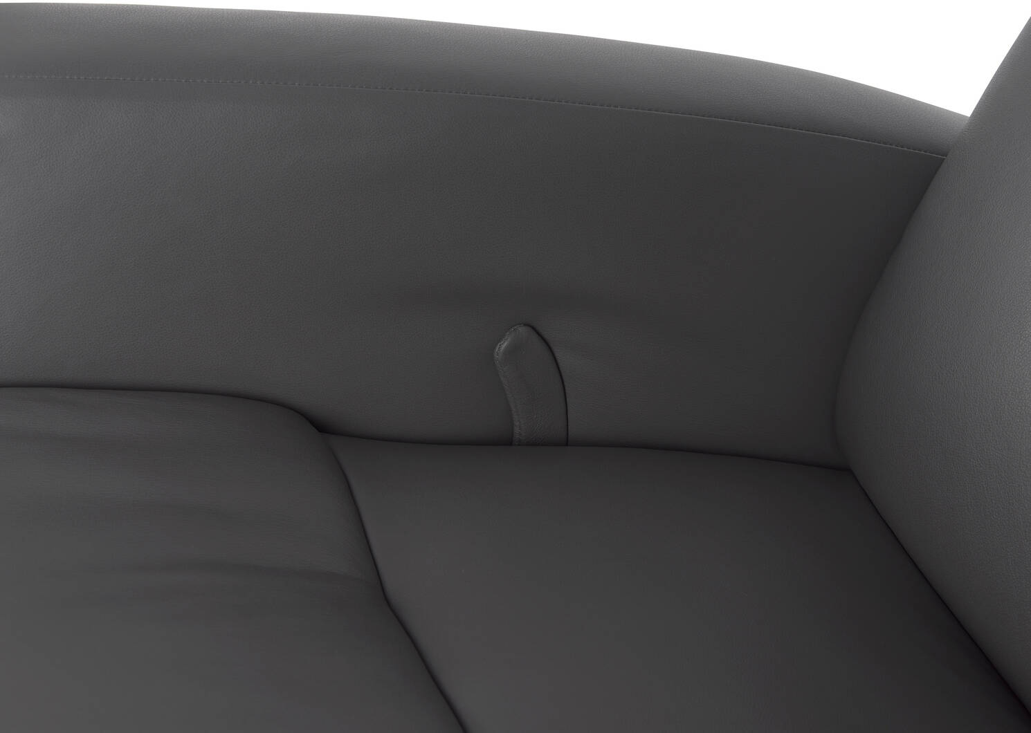 Drake Leather Recliner -Tre Graphite