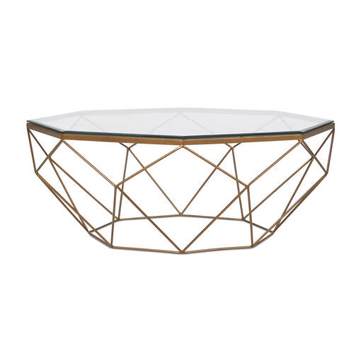 Stella Coffee Table -Brass