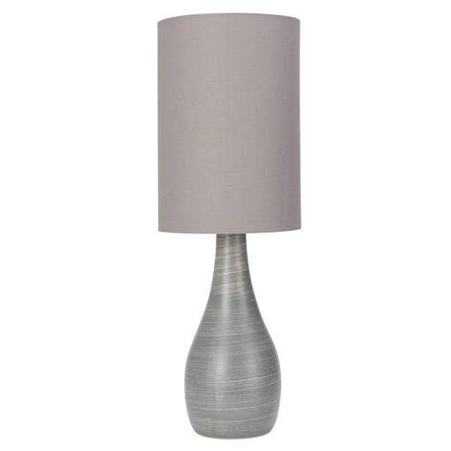 Lampe de table Naomie grise