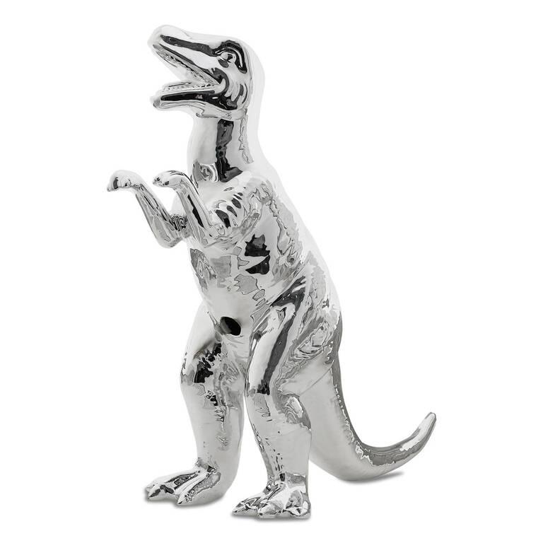 T Rex Decor Silver
