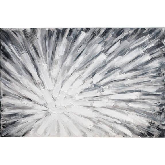 Plosion Wall Art Grey