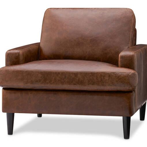 Savoy Custom Leather Armchair