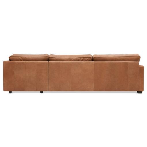 Burke Custom Leather 3PC Sectional