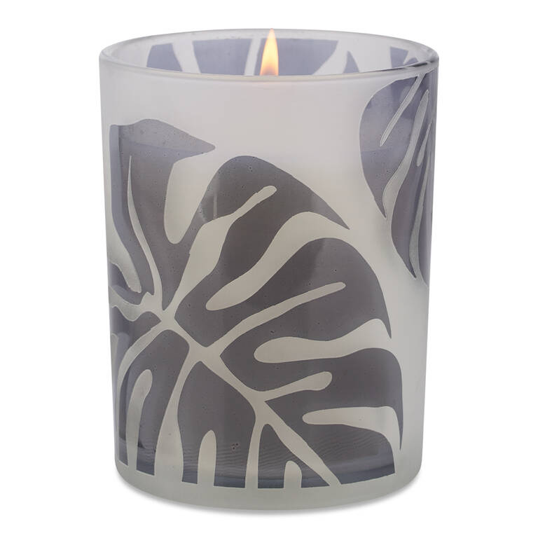 Keimi Leaf Candle Jar