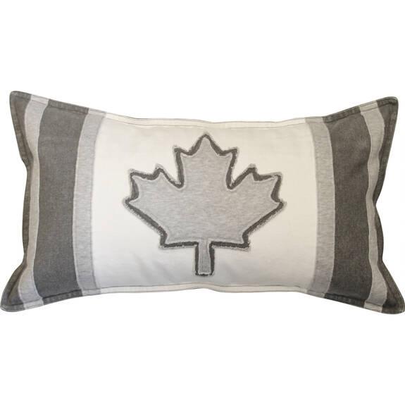 Coussin drapeau canadien Varsity 12x22