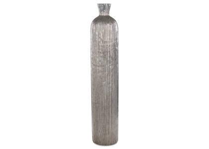 Grand vase Blaire argenté