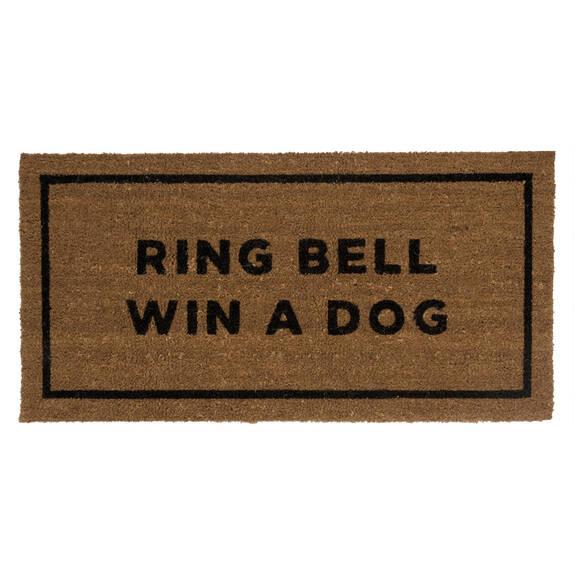 Ring Bell Win a Dog Doormat