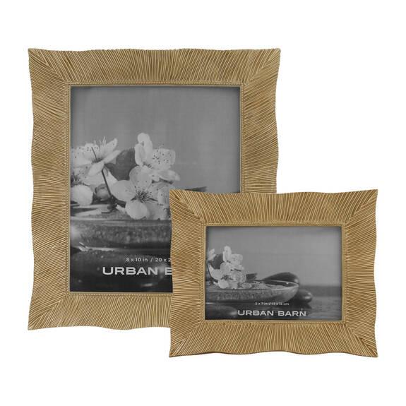 Ruffles Frames - Brass