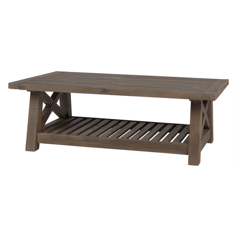 Table basse Ironside -gris rustique