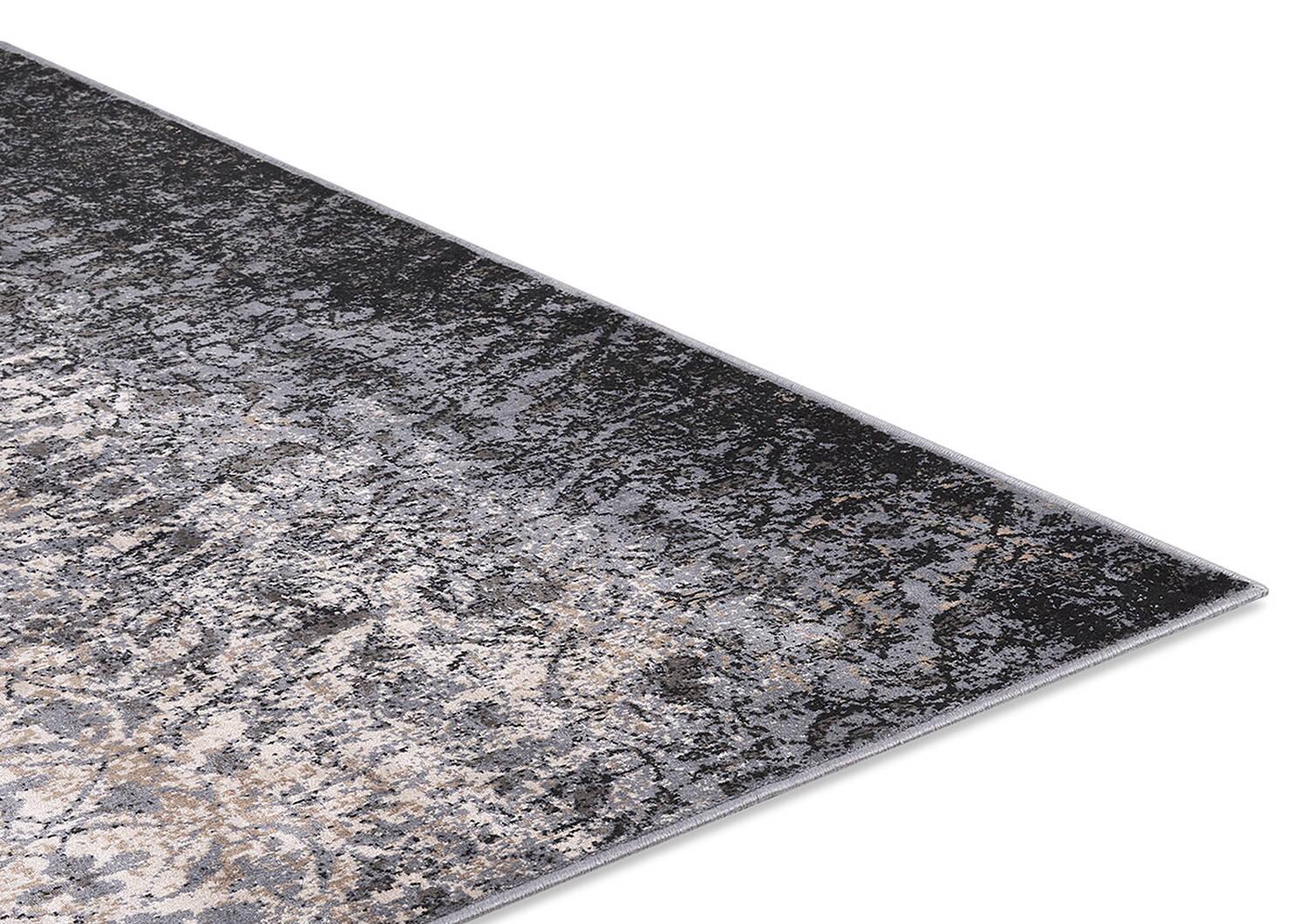 Rousseau Rug - Grey/Black